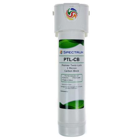 Spectrum Premier 1_4_ Twist-Lock Filter Complete | Silk Flow