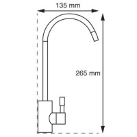 Quarter turn tap   Silk Flow